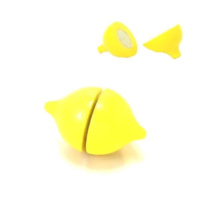 【おもちゃのジャンボ】 木のおもちゃ おままごと 食材 レモン ミニキッチン 拡張パーツ 木製玩具 通販 販売