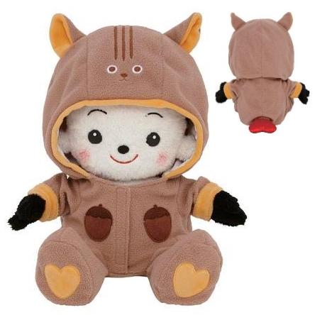 【おもちゃのジャンボ】 おめかしセレクション24 「リス カバーオール」 プリモプエル 服 おしゃべり人形 通販 販売