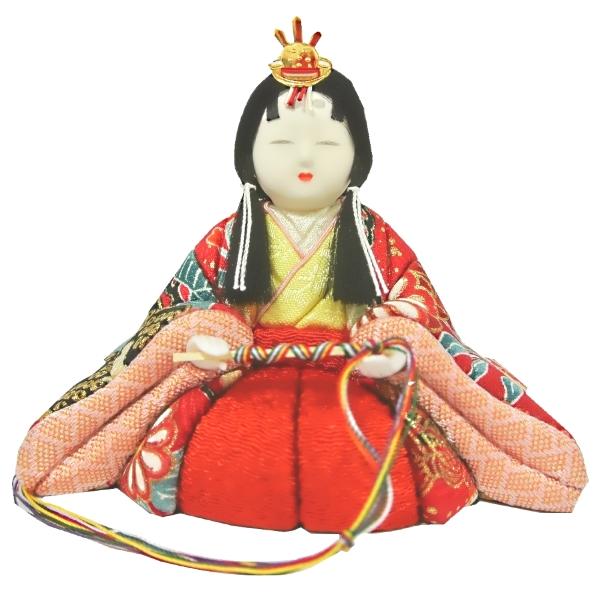雛人形 ひな人形 お雛様 雛 2人飾り 木目込み雛 ケース飾り 収納飾り 親王 三人官女 2015年度新作 吊るし雛 おもちゃ 通販 販売