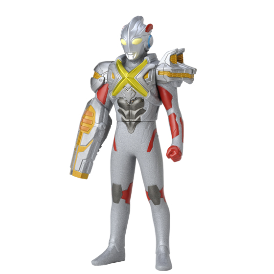 ウルトラヒーローX 03 ウルトラマンエックス(エレキングアーマー) (おもちゃ)