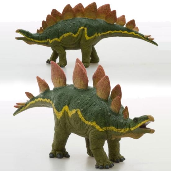 恐竜フィギュア ステゴサウルス ビニールモデル