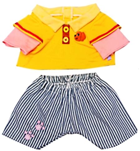【おもちゃのジャンボ】 夢の子コレクション39 ポロシャツ&ストライプズボン お洋服 ユメル ネルル ミルル 通販 販売