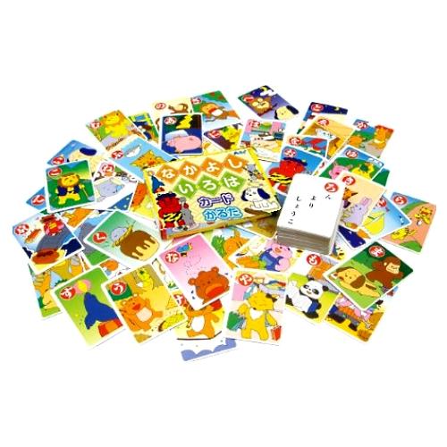遊びながら学習出来る「なかよし いろは かるた カード」 いろはかるたを簡単に楽しく勉強する事で、学習する力を身につけれます。