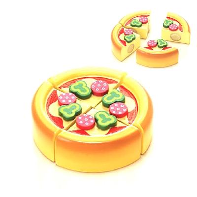 【おもちゃのジャンボ】 木のおもちゃ おままごと 食材 ピザ ミニキッチン 拡張パーツ 木製玩具 通販 販売