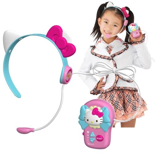 【おもちゃのジャンボ】 ハローキティ うたって!おどって!アイドルマイク (簡単カラオケマイク) 通販 販売