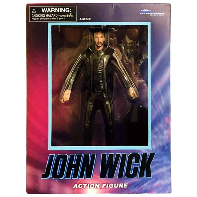 ジョン・ウィック:チャプター2 ダイアモンドセレクト 7インチ アクションフィギュア ジョン・ウィック 【パッケージダメージあり】