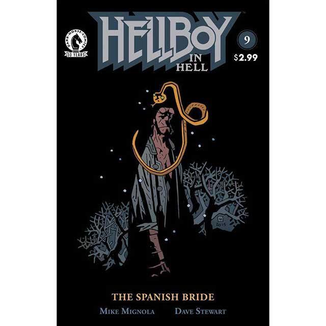 アメリカンコミックス ダークホースコミックス ヘルボーイ イン ヘル #9