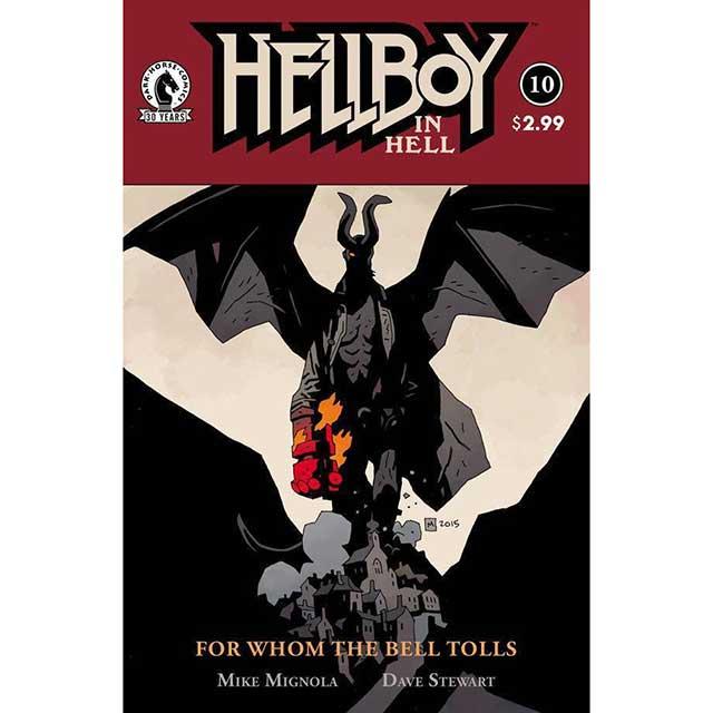 アメリカンコミックス ダークホースコミックス ヘルボーイ イン ヘル #10
