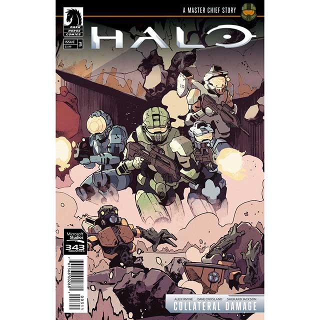 アメリカンコミックス ダークホースコミックス ヘイロー:マスターチーフ・ストーリー #3 【クリックポストOK】