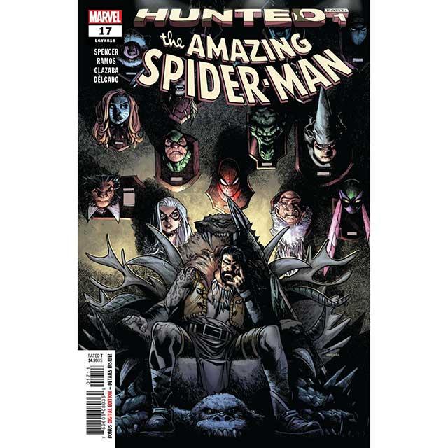 アメリカンコミックス マーベルコミックス アメイジング スパイダーマン #17 【メール便可】