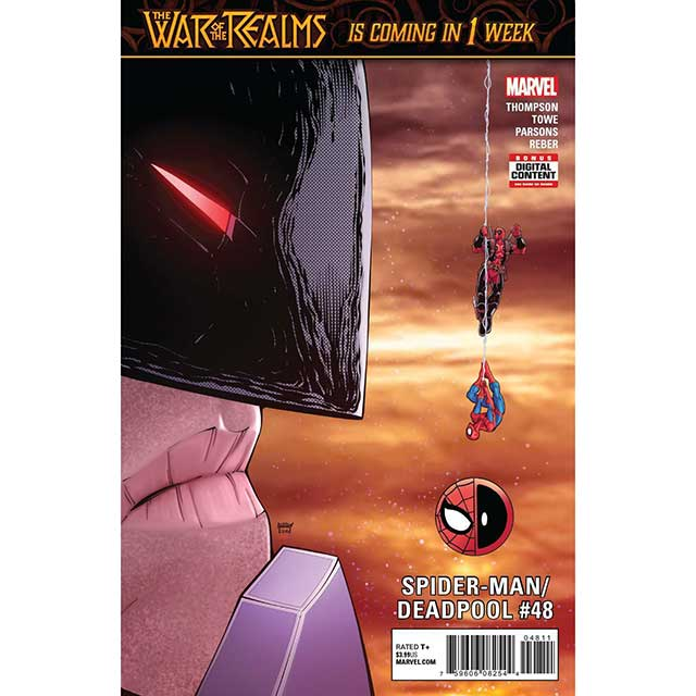 アメリカンコミックス マーベルコミックス スパイダーマン/デッドプール #48 【メール便可】