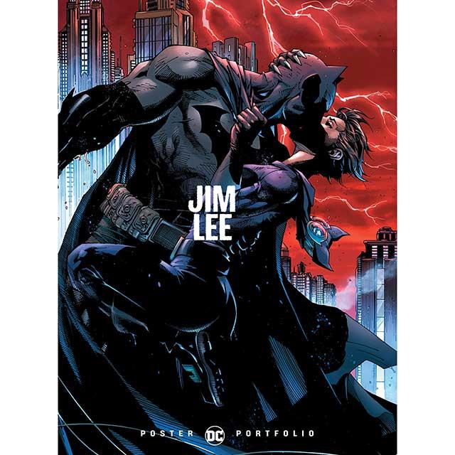 アメリカンコミックス DCコミックス ジム・リー ポートフォリオ ポスター ブック