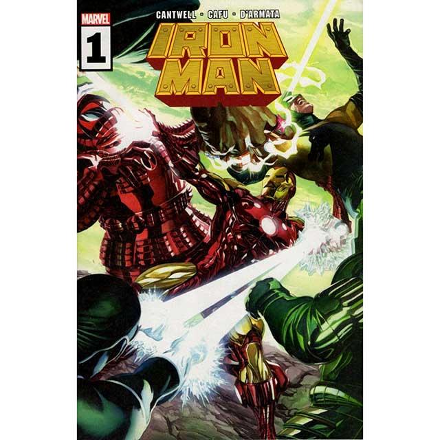 アメリカンコミックス マーベルコミックス アイアンマン #1 【クリックポストOK】