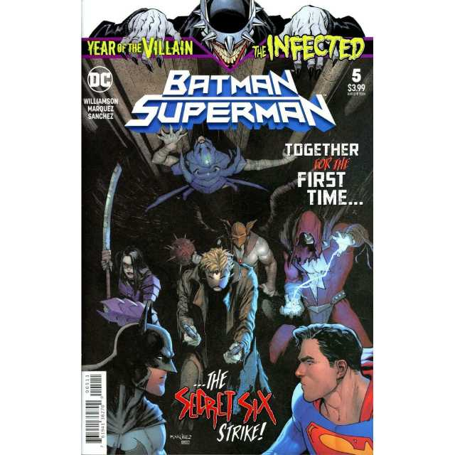 アメリカンコミックス DCコミックス スーパーマン / バットマン #5 【クリックポストOK】
