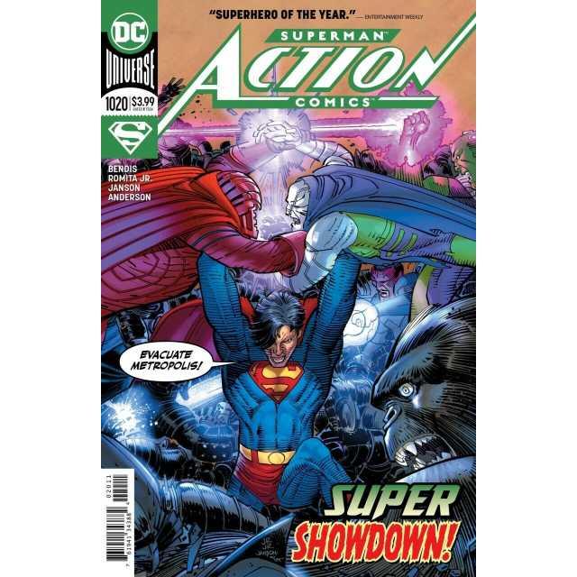 アメリカンコミックス DCコミックス アクションコミックス #1020 【ページ破れあり】 【クリックポストOK】