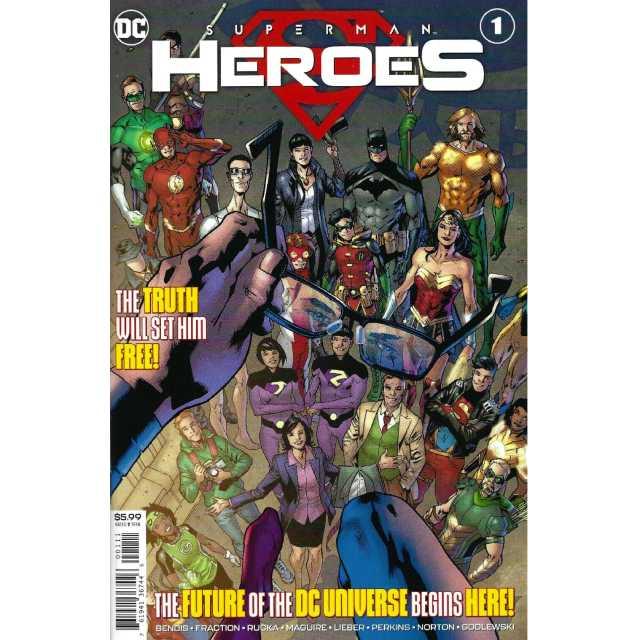 アメリカンコミックス DCコミックス スーパーマン:ヒーローズ ワンショット 【クリックポストOK】