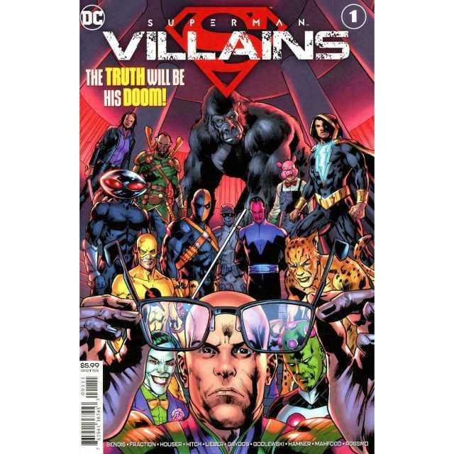 アメリカンコミックス DCコミックス スーパーマン:ヴィランズ ワンショット 【クリックポストOK】
