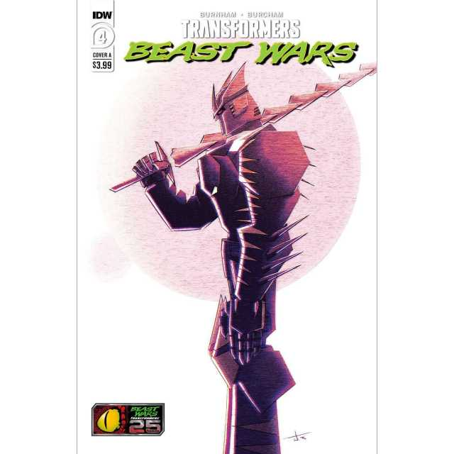アメリカンコミックス IDWコミックス トランスフォーマー / ビーストウォーズ #4 (カバーA) 【クリックポストOK】