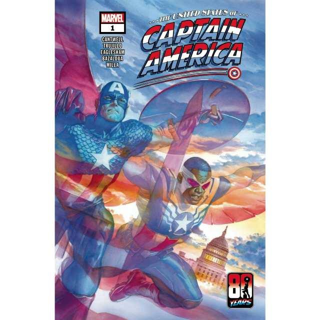 アメリカンコミックス マーベルコミックス ユナイテッド・ステーツ・キャプテン・アメリカ #1 【クリックポストOK】