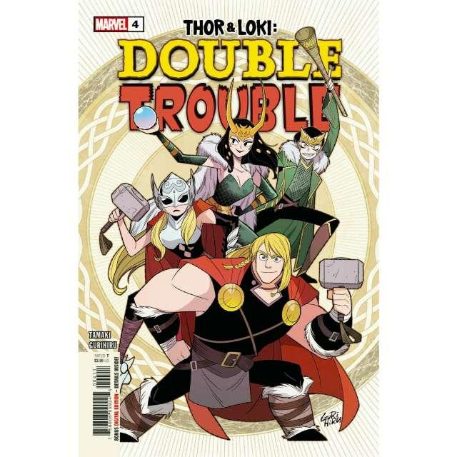 アメリカンコミックス マーベルコミックス ソー & ロキ:ダブル・トラブル #4 【クリックポストOK】