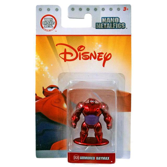 ディズニー ベイマックス ジェイダトイズ ナノ メタルフィグス ダイキャスト ミニフィギュア DS20 アーマード・ベイマックス