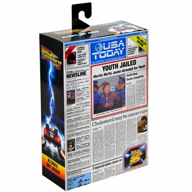 バック・トゥー・ザ・フューチャー パート2 ネカ 7インチ アルティメット アクションフィギュア ドク (エメット・ブラウン)