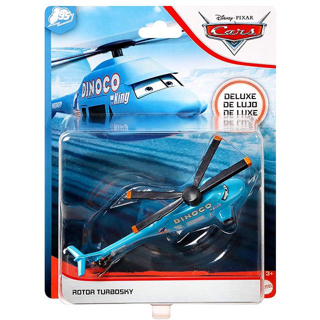 カーズ 2020 マテル 1/55スケール ダイキャスト ミニカー デラックスサイズ 1パック ローター・ターボスカイ (ダイナコ デイドリーム)