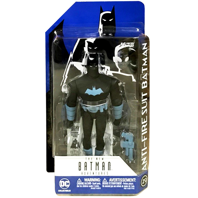 DCコレクティブルズ バットマン アニメイテッド 6インチ アクションフィギュア アンチファイアスーツ バットマン (ニューバットマンアドベンチャーズ)