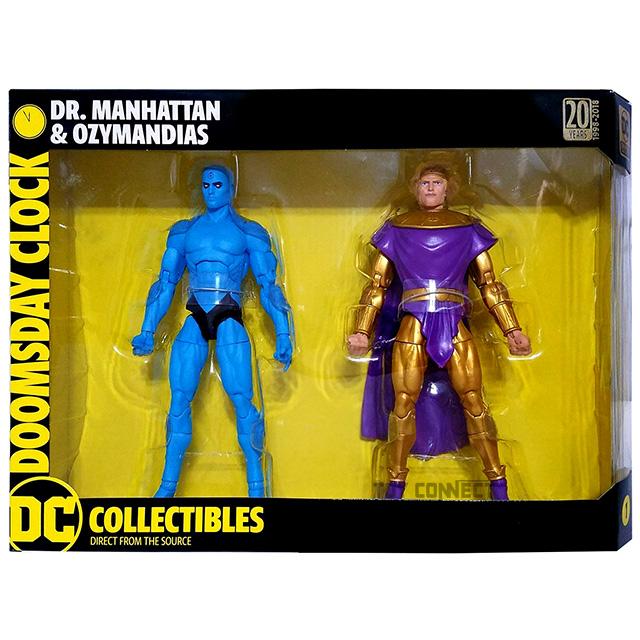 DCコレクティブルズ ドゥームズデイ・クロック 6.75インチ アクションフィギュア 2パック ドクター・マンハッタン & オジマンディアス