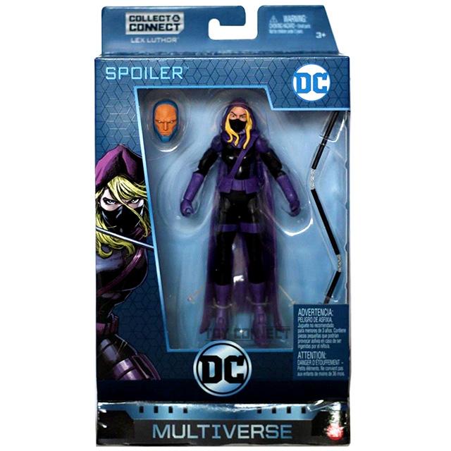 マテル DCコミックス マルチバース ウォルマート限定 6インチ アクションフィギュア レックス・ルーサーシリーズ スポイラー (ディテクティブコミックス)