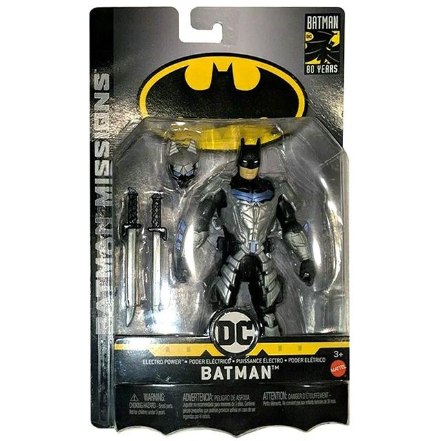 マテル バットマン ナイトミッションズ 6インチ アクションフィギュア エレクトロパワー バットマン