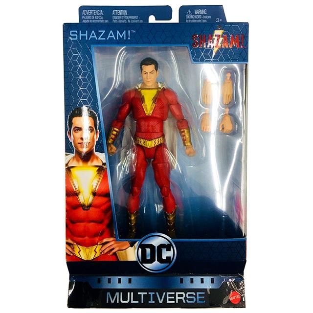 マテル シャザム! DCコミックス マルチバース 6インチ アクションフィギュア シャザム!
