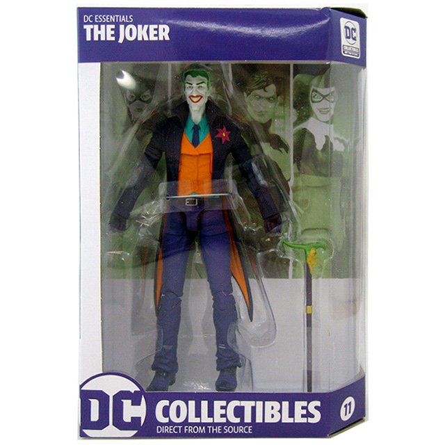 DCコレクティブルズ DCコミックス エッセンシャルズ 6.75インチ アクションフィギュア ジョーカー