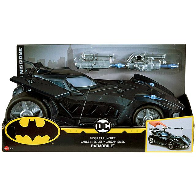 マテル バットマン ナイトミッションズ デラックス ビークル ミサイルランチャー バットモービル
