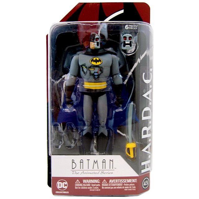 DCコレクティブルズ バットマン アニメイテッド 6インチ アクションフィギュア H.A.R.D.A.C. / ハーダック (アニメイテッドシリーズ)