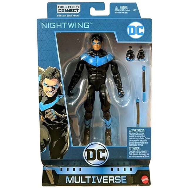 マテル DCコミックス マルチバース 6インチ アクションフィギュア ニンジャバットマンシリーズ ナイトウィング