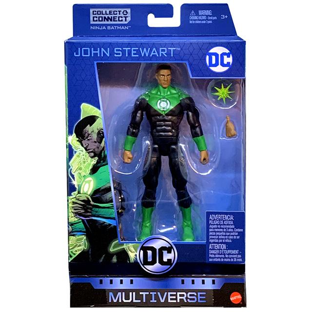 マテル DCコミックス マルチバース 6インチ アクションフィギュア ニンジャバットマンシリーズ ジョン・スチュワート グリーンランタン