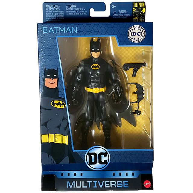 マテル DCコミックス マルチバース 6インチ アクションフィギュア バットマン 80周年記念シリーズ バットマン (トイビズ トリビュート)