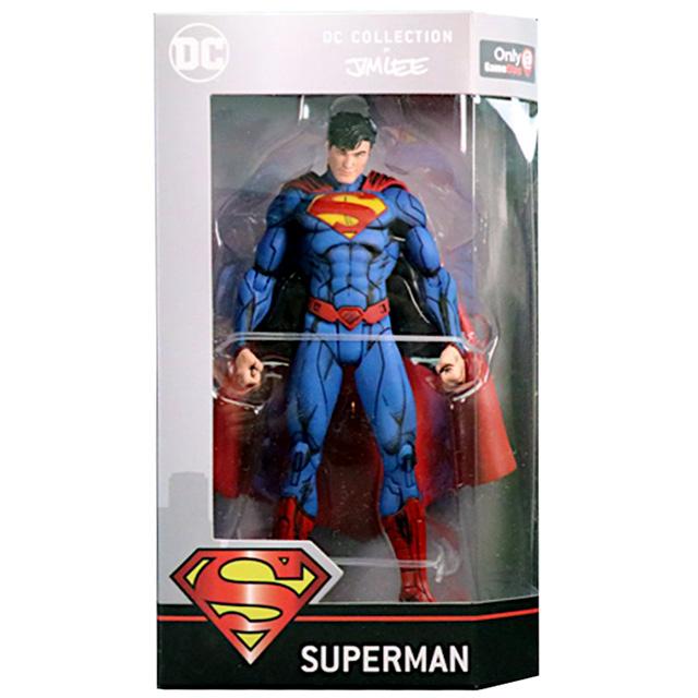 DCコレクティブルズ DCコレクション by ジム・リー ゲームストップ限定 アクションフィギュア スーパーマン