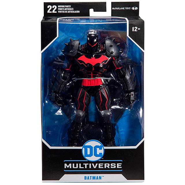 マクファーレントイズ DC マルチバース 7インチ アクションフィギュア 『バットマン アンド ロビン』 ヘルバット・スーツ バットマン