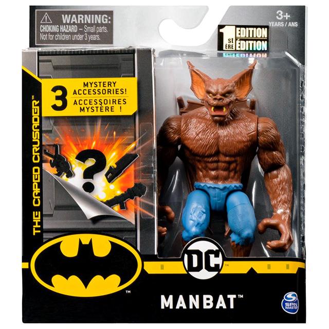 スピンマスター DCコミックス クリーチャーカオス 4インチ アクションフィギュア ミステリー・アクセサリーパック マンバット