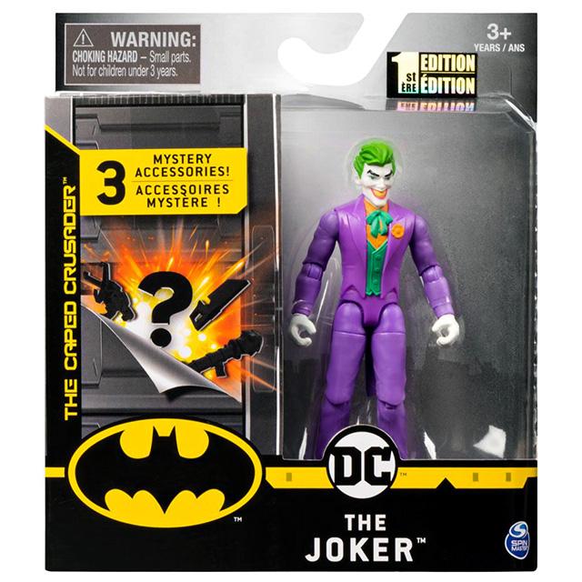 スピンマスター DCコミックス クリーチャーカオス 4インチ アクションフィギュア ミステリー・アクセサリーパック ジョーカー