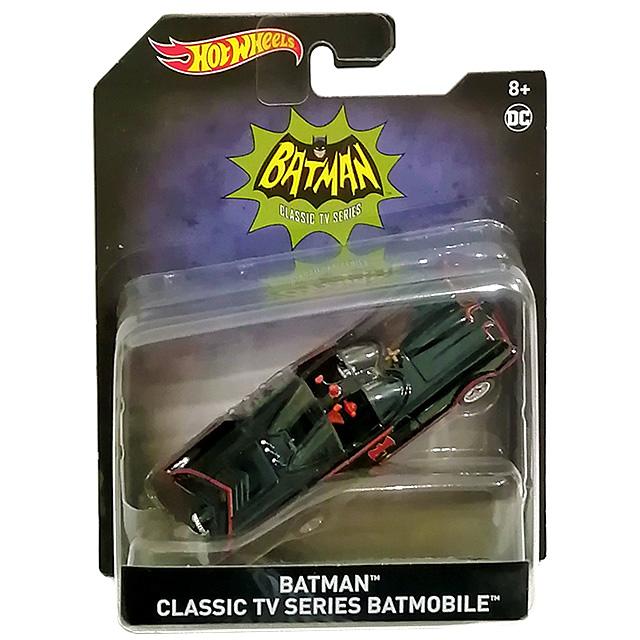 バットマン マテル 2020 ホットウィール 1/50スケール ダイキャストビークル 『1966 クラシック テレビシリーズ』 バットモービル
