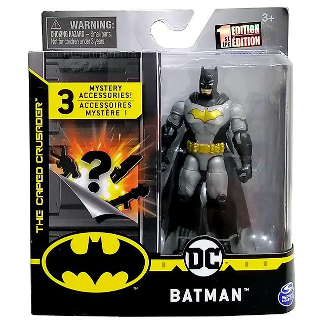 スピンマスター DCコミックス クリーチャーカオス 4インチ アクションフィギュア ミステリー・アクセサリーパック アーマード・バットマン