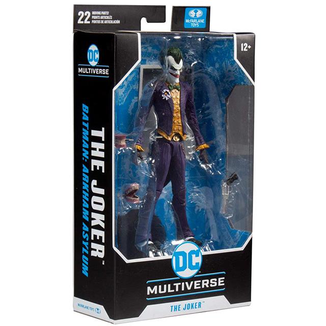 マクファーレントイズ DC マルチバース 7インチ アクションフィギュア 『バットマン:アーカム・アサイラム』 ジョーカー