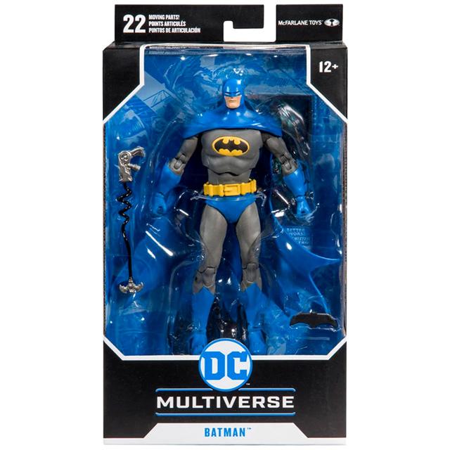 マクファーレントイズ DC マルチバース ウォルマート限定 7インチ アクションフィギュア 『ディテクティブコミックス #1000』 バットマン (ブルースーツ)