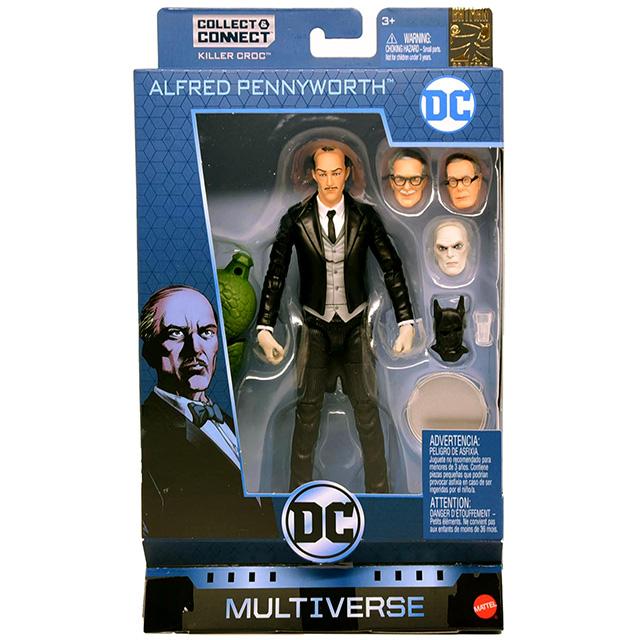 マテル DCコミックス マルチバース 6インチ アクションフィギュア キラークロックシリーズ アルフレッド・ペニーワース
