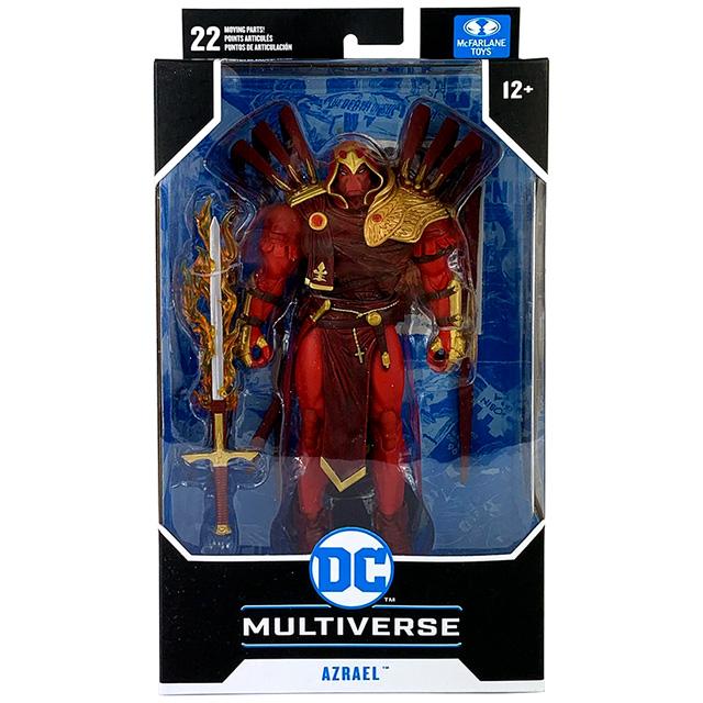 マクファーレントイズ DC マルチバース 7インチ アクションフィギュア 『バットマン:ホワイトナイト』 アズラエル