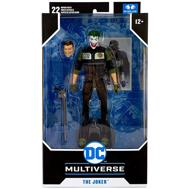 マクファーレントイズ DC マルチバース 7インチ アクションフィギュア 『バットマン:ホワイトナイト』 ジョーカー