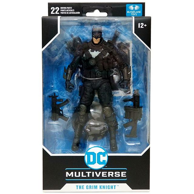 マクファーレントイズ DC マルチバース ウォルマート限定 7インチ アクションフィギュア 『バットマン・フー・ラフス』 グリムナイト